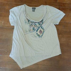 Dots womans XL shirt